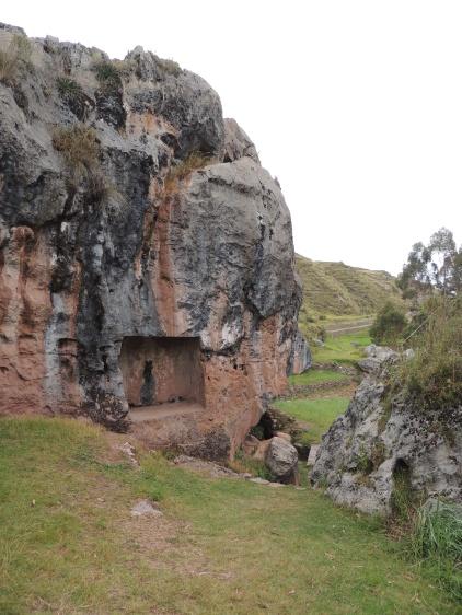 le rocher de la Pachamama a Chinchero