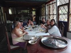 Déjeuner très familial