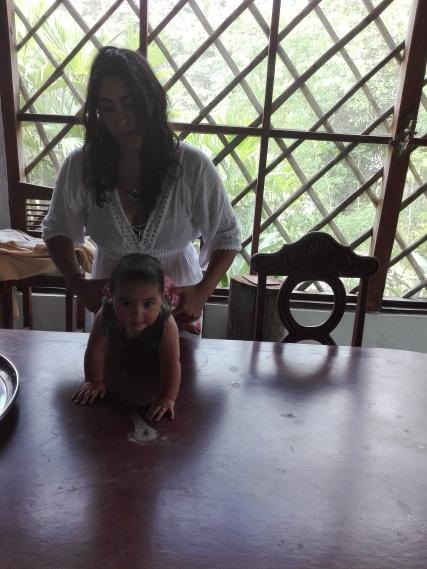 Amaru et sa mère Rafaela